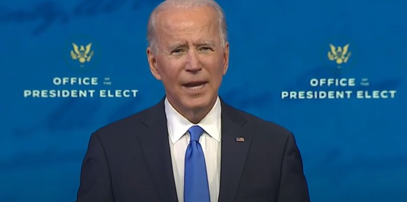 Joe Biden accepts the nomination for President of the United States, November 7, 2020