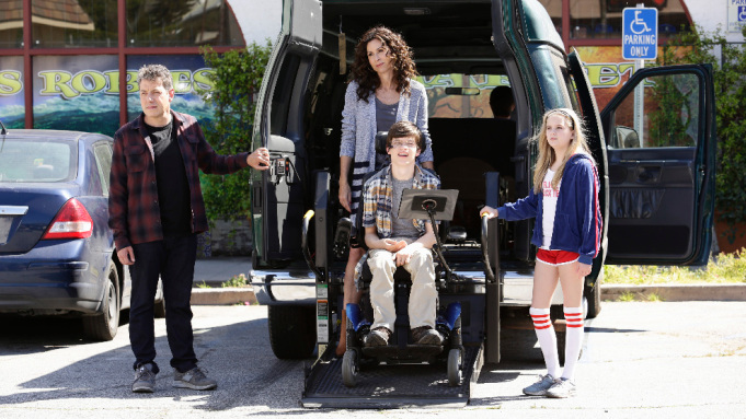 The family from the TV Show, Speechless