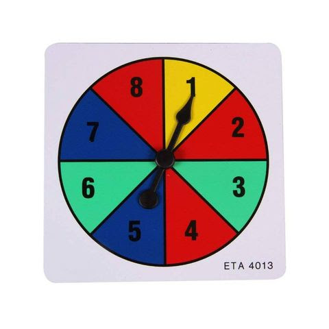 In-game number spinner